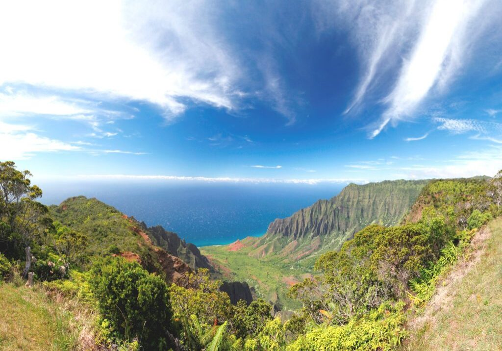 08-12-13 Kalalau Valley Lookout Panorama1small